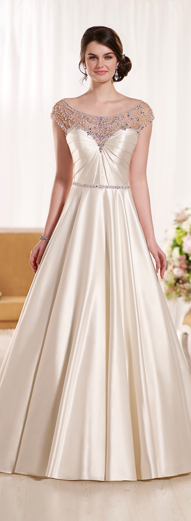 Wedding dress by Essense of Australia Spring 2016 Bridal Collection