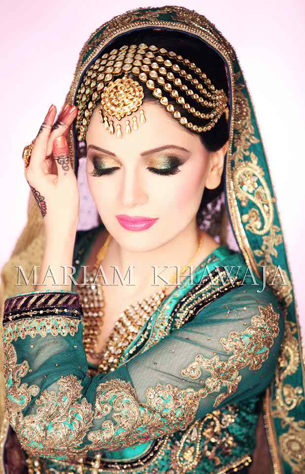 14 Cute Mehndi Makeup Styles And Ideas0013