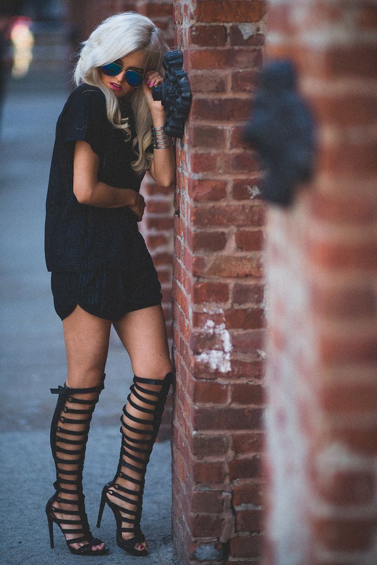 outfits with gladiator heels 5