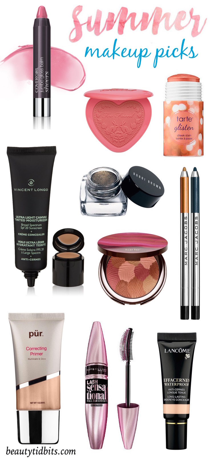 Summer makeup must haves