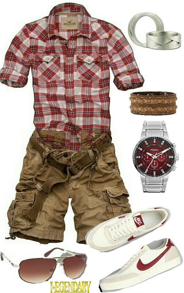 Stylish Outfits with Shorts for Men (6)