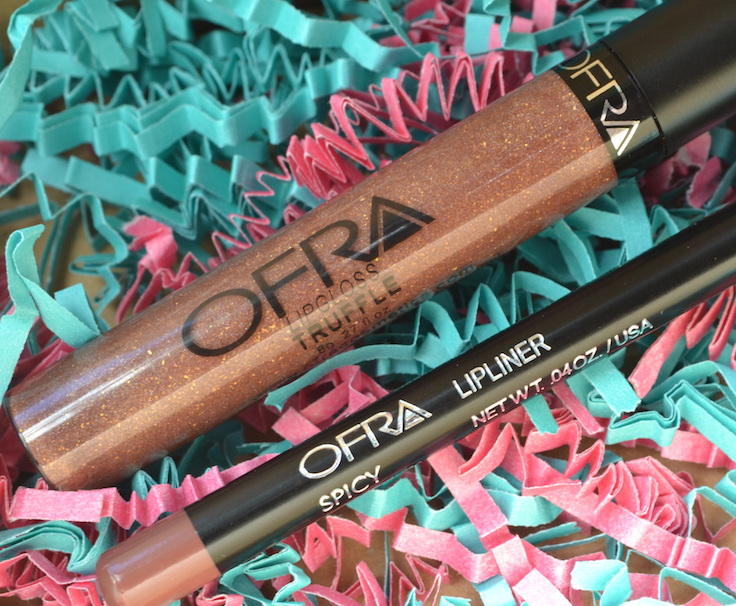 Ofra lipgloss and lipliner