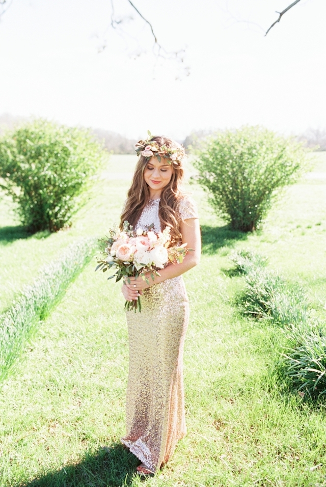 Badgley Mischka dress | Jessica Sparks Photography | see more on: http://burnettsboards.com/2015/07/southern-fairytale-engagement-session/