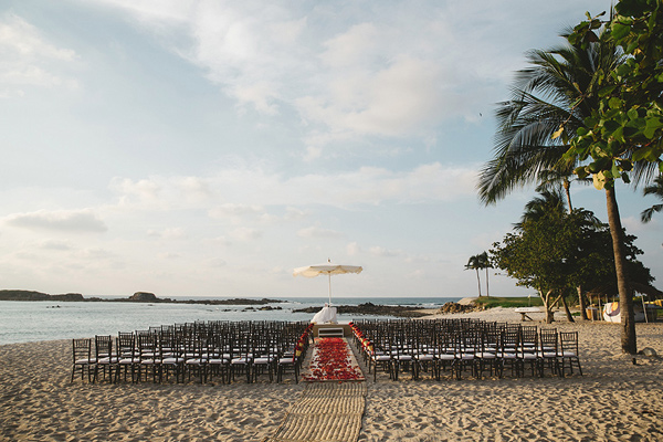 wedding ceremony setup - photo by Geoff Duncan http://ruffledblog.com/punta-mita-destination-wedding-and-rehearsal-dinner