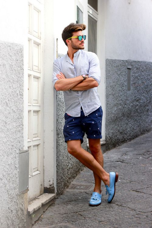 Stylish Outfits with Shorts for Men (20)