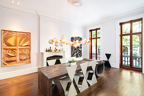Sarah Jessica Parker and Matthew Broderick's dining room