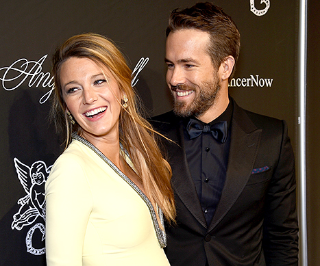 Blake Lively and Ryan Reynolds attend Angel Ball 2014.