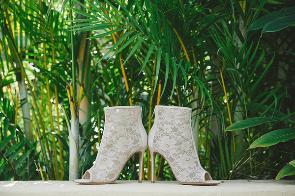wedding shoes - photo by Geoff Duncan http://ruffledblog.com/punta-mita-destination-wedding-and-rehearsal-dinner
