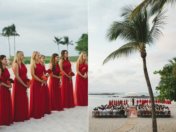 wedding ceremony - photo by Geoff Duncan http://ruffledblog.com/punta-mita-destination-wedding-and-rehearsal-dinner