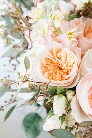 Peach peony | Jessica Sparks Photography | see more on: http://burnettsboards.com/2015/07/southern-fairytale-engagement-session/