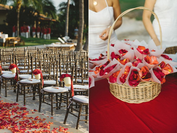wedding ceremony seating - photo by Geoff Duncan http://ruffledblog.com/punta-mita-destination-wedding-and-rehearsal-dinner