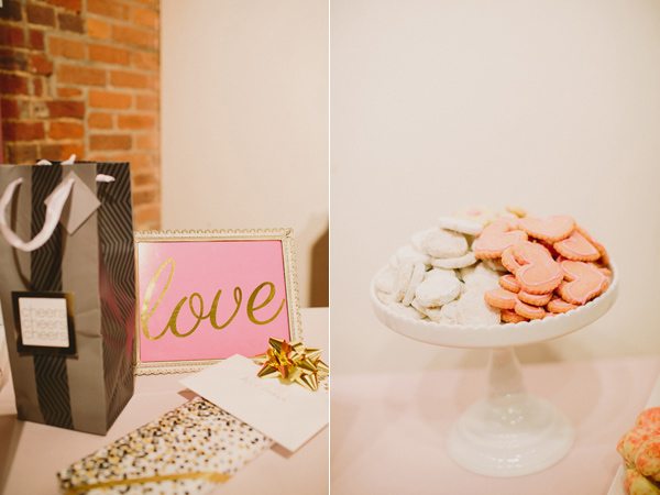 wedding desserts - photo by Caitlin Thomas Photography http://ruffledblog.com/a-green-pittsburgh-opera-wedding
