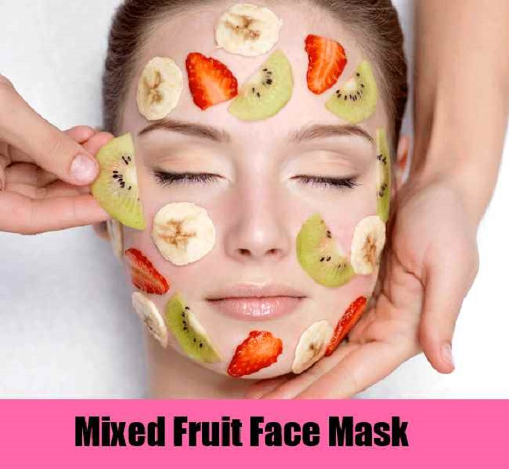 Mixed Fruit Face Masks