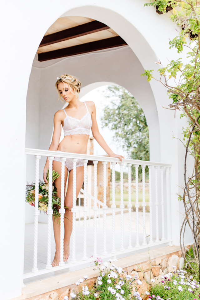 Bridal lingerie Something Blue – Wedding Photography | see more on: http://burnettsboards.com/2015/07/destination-wedding-mallorca-start-finish/
