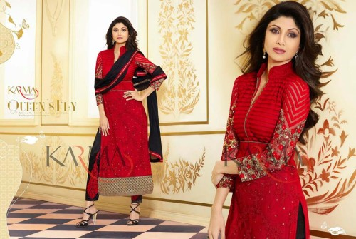 Stylish-Indian-Shilpa-Shetty-Eid-Wear-Collection-2015-for-Women-3
