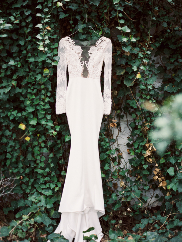 illusion lace wedding gown - photo by Taylor Lord http://ruffledblog.com/spring-wedding-with-an-illusion-lace-gown
