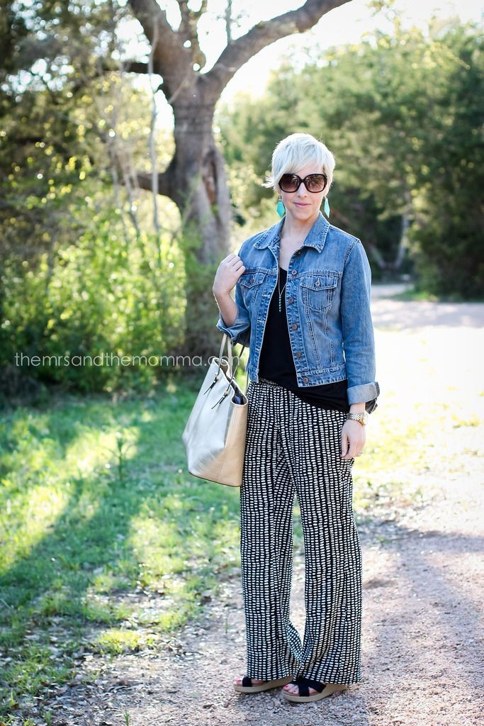 Stylish Shoes with Palazzo Pants (5)