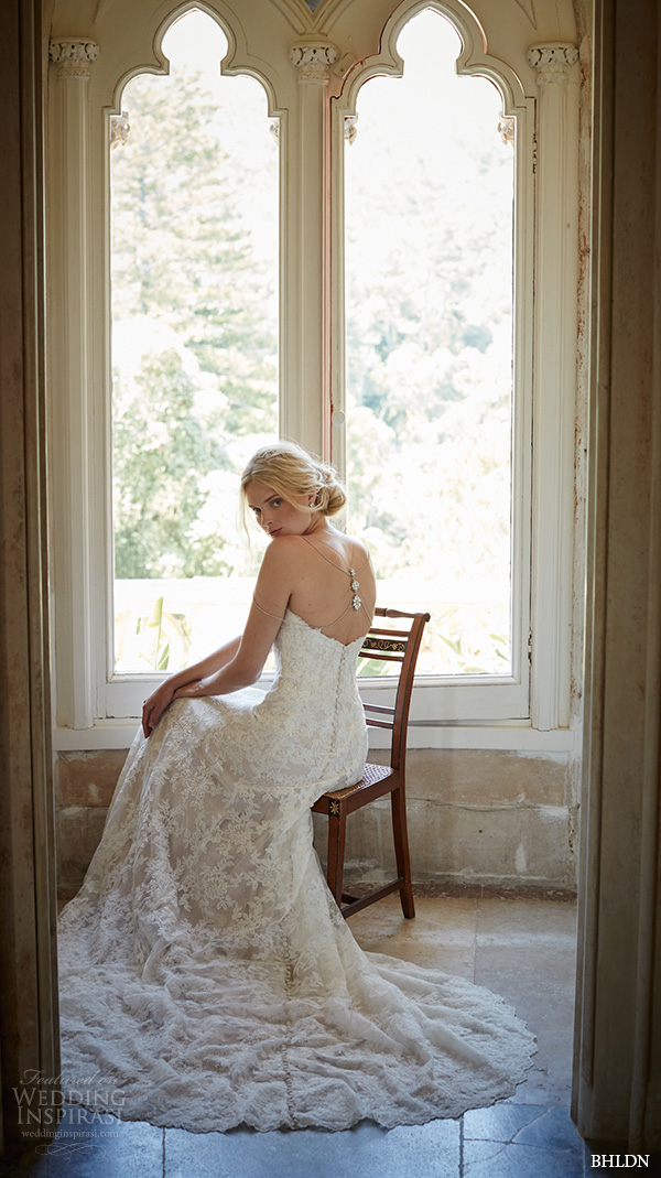bhldn fall 2015 wedding dresses strapless sweetheart neckline slim fit lace ivory a line wedding dress adair