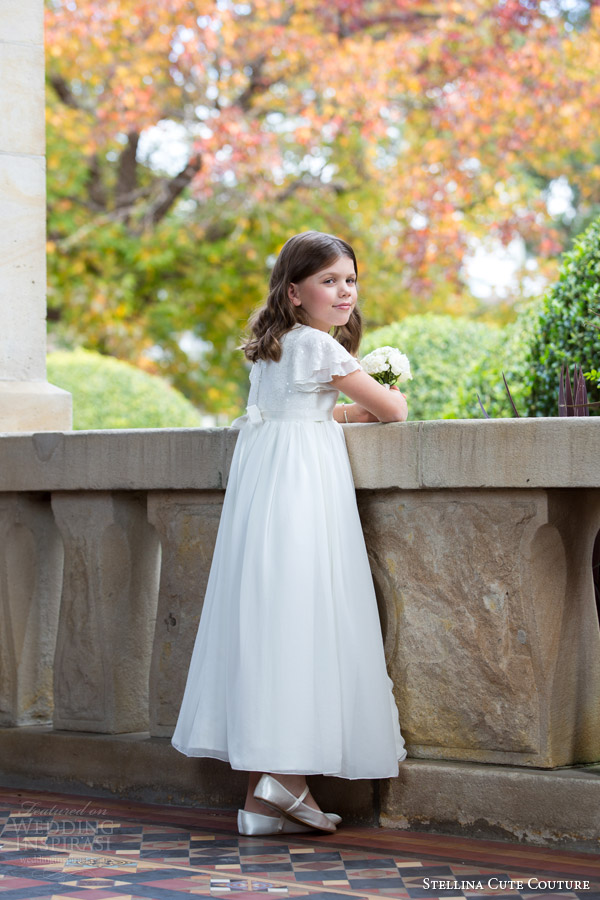 stellina cute couture 2015 2016 flower girl dresses bridal special ocassion wear for girls