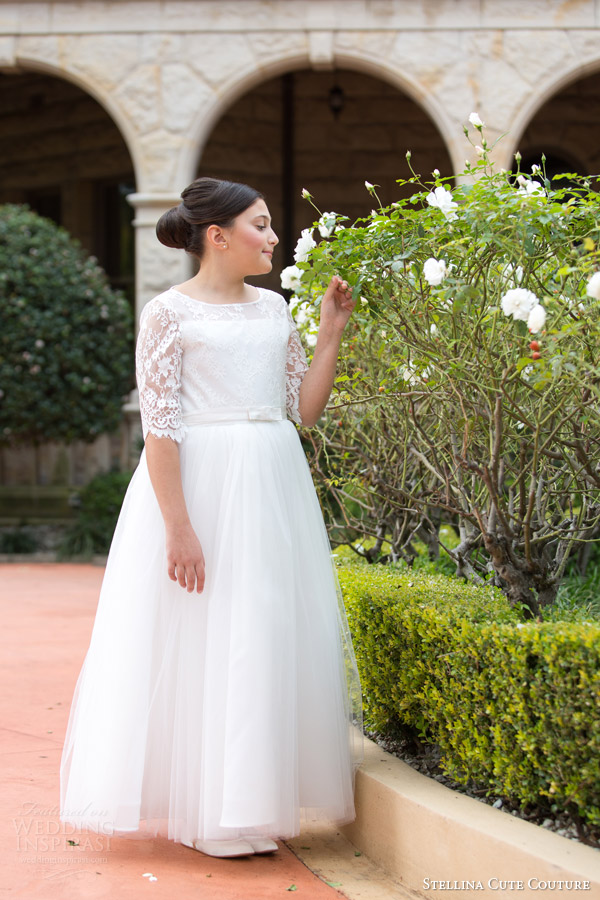 stellina cute couture 2015 2016 special occasion wear dresses for girls