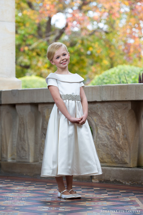 stellina cute couture 2015 2016 flower girl dresses and special occasion wear for kids