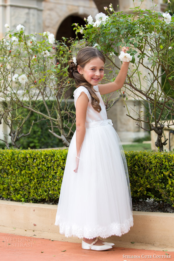 stellina cute couture 2015 2016 bridal occasion wear flower girl dress