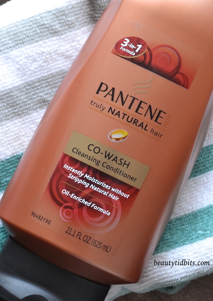 Pantene Truly natural Co-Wash Cleansing Conditioner