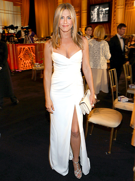 Jennifer Aniston attends the 40th AFI Life Achievement Award honoring Shirley MacLaine held at Sony Pictures Studios on June 7, 2012 in Culver City, California.