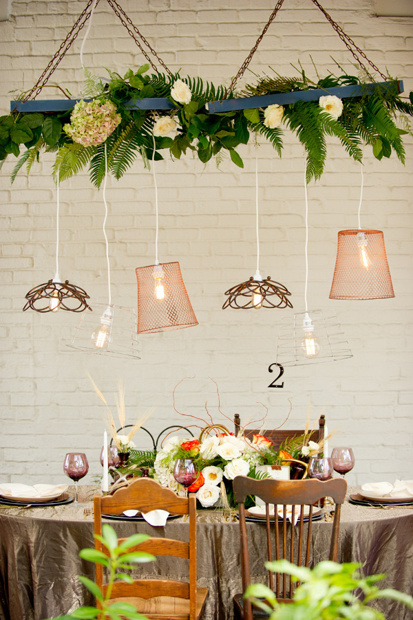 colorful industrial chic wedding shoot - photo by Andi Diamond http://ruffledblog.com/colorful-industrial-chic-wedding-shoot