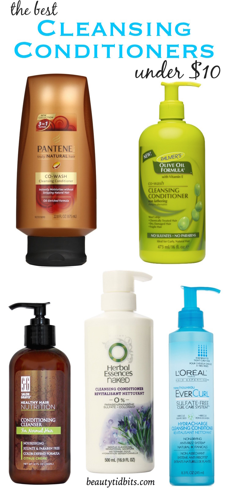 Best Drugstore Cleansing conditioners under $  10