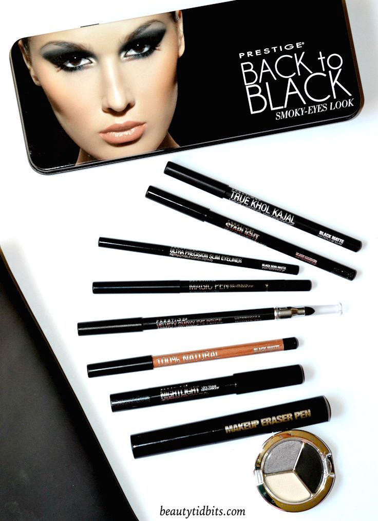 Prestige Cosmetics Back to Black Collection