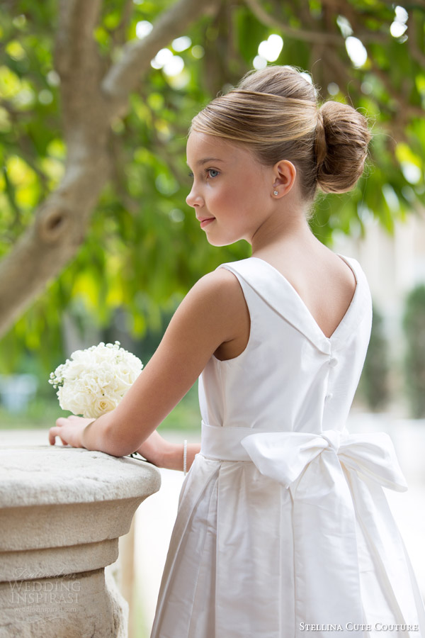 stellina cute couture 2015 2016 flower girl dresses bridal attendant gown kids occasion wear