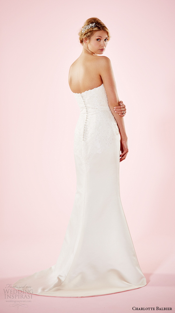 charlotte balbier 2016 bridal dresses strapless sweetheart neckline embroidered bodice trumpet wedding gown estelle back