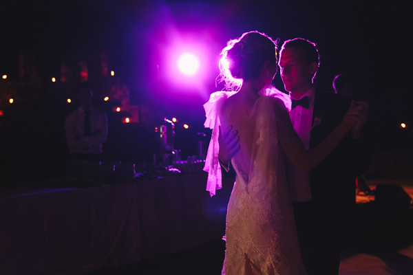 first dance - photo by Studio A+Q http://ruffledblog.com/destination-wedding-in-florence-at-vincigliata-castle