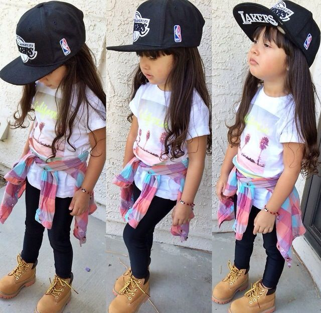kids outfit with timberlands11