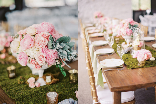 reception table - photo by Taylor Lord http://ruffledblog.com/spring-wedding-with-an-illusion-lace-gown