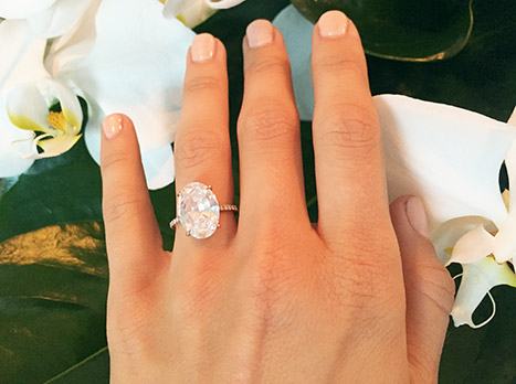 Julianne Hough shows off her gorgeous engagement ring on her blog.