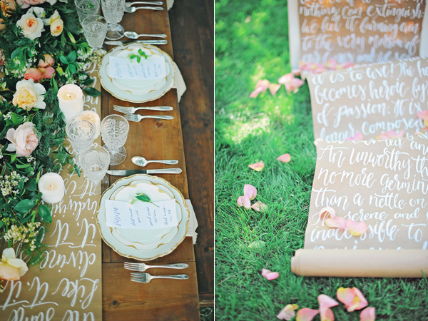 soft and modern wedding inspiration - photo by ArinaB Photography http://ruffledblog.com/soft-and-modern-wedding-inspiration