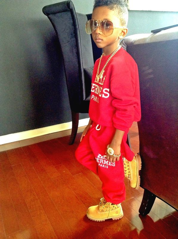 kids outfit with timberlands9