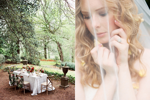 Birth of Venus wedding inspiration - photo by Morning Light by Michelle Landreau http://ruffledblog.com/birth-of-venus-wedding-inspiration