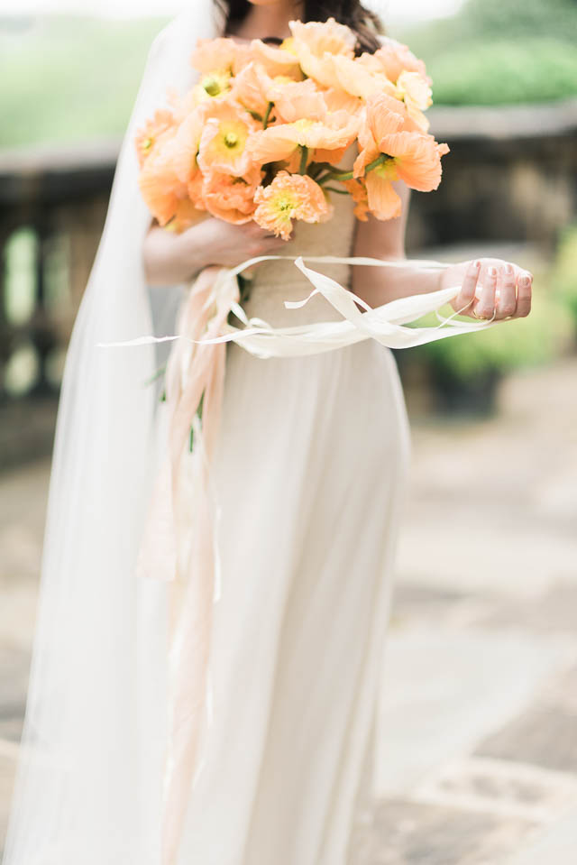 Silk and Willow ribbons ⎪Elizabeth Fogarty Photography ⎪see more on: http://burnettsboards.com/2015/08/ethereal-virginia-wedding/