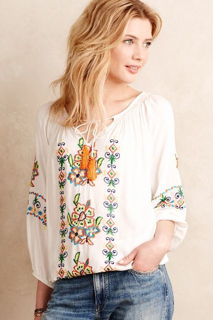peasant blouse outfit8