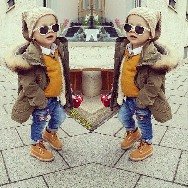 kids outfit with timberlands