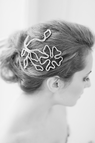 Intricate bridal headpiece ⎪Die Ciuciu's ⎪ see more on: http://burnettsboards.com/2015/08/ovids-metamorphoses/