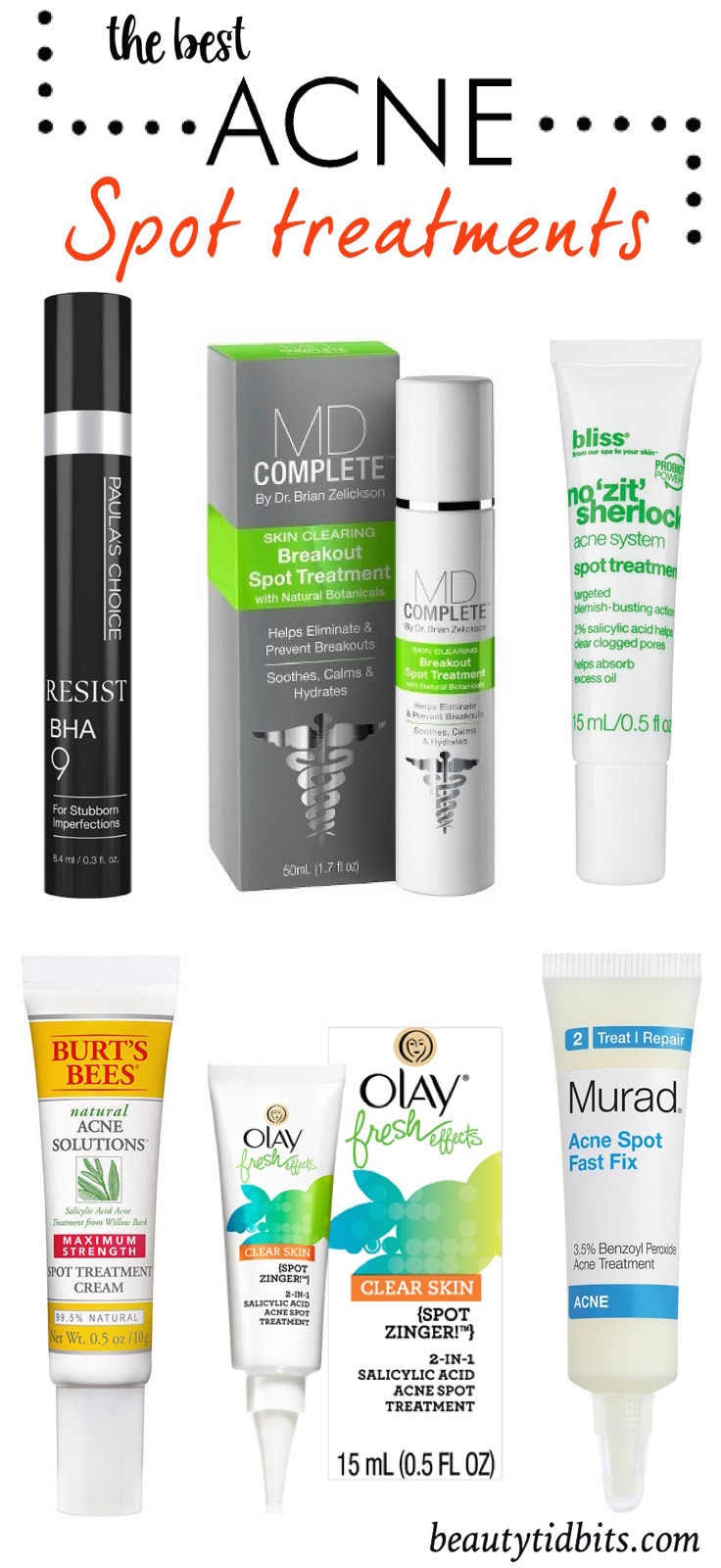 Best Acne Spot treatments
