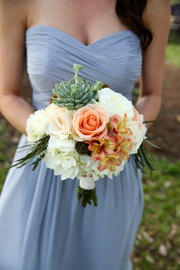 Wedding Bouquet with Succulent