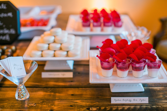Red and white desserts | Sweetness and Light Photography | see more on: http://burnettsboards.com/2015/09/host-networking-party/