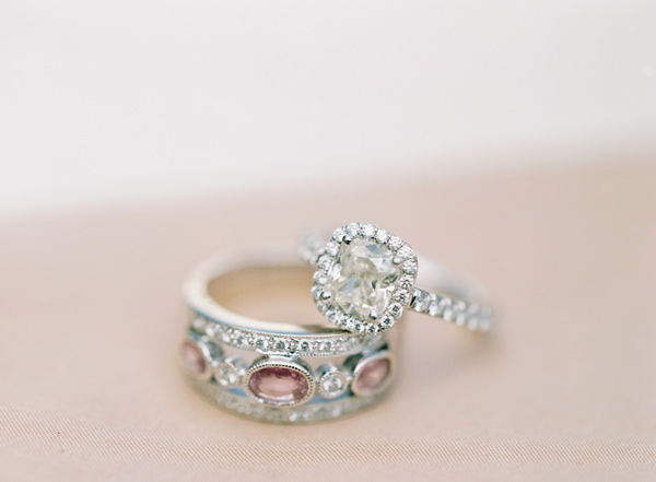 wedding rings - photo by Elisa Bricker http://ruffledblog.com/southern-keswick-vineyards-wedding