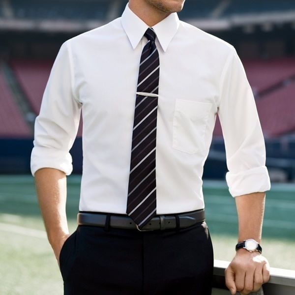 White Shirt Outfits for Men (1)