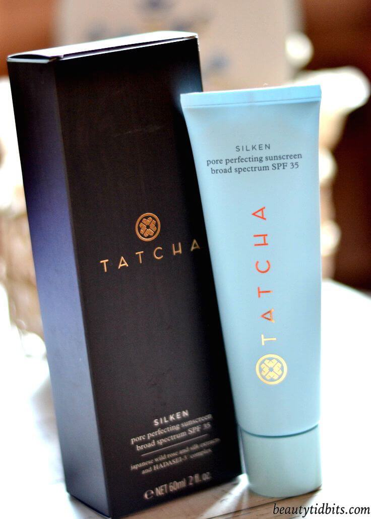 A skin-improving sunscreen that you'll be excited to wear! Inspired by the geisha's iconic makeup, Tatcha's Silken sunscreen doesn't just block aging UV rays, but also tightens pores and primes your skin for makeup. >> beautytidbits.com | via @beautytidbits